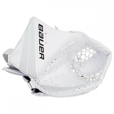 White/White (Bauer Vapor X700 Catch Glove - Senior)