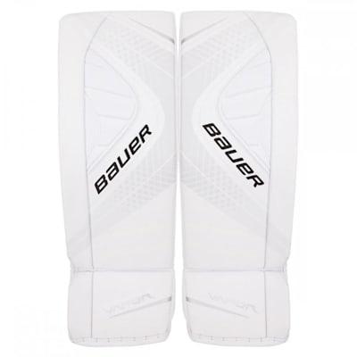 White/White (Bauer Vapor X900 Goalie Leg Pads - Intermediate)