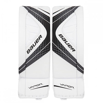 White/Black (Bauer Vapor X900 Hockey Goalie Leg Pads - Senior)
