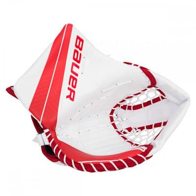 White/Red (Bauer Vapor X900 Goalie Catch Glove - Senior)