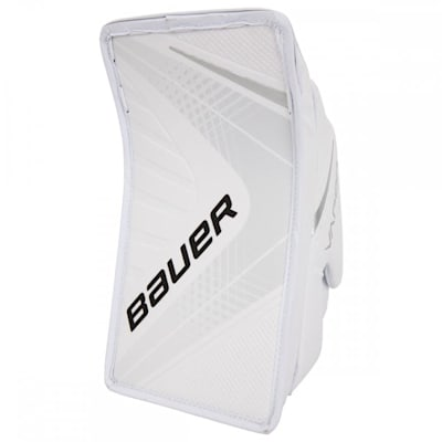 White/White (Bauer Vapor X900 Goalie Blocker - Intermediate)