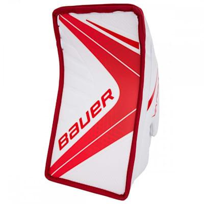 White/Red (Bauer Vapor X900 Goalie Blocker - Senior)