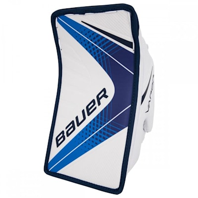 White/Navy (Bauer Vapor X900 Goalie Blocker - Senior)