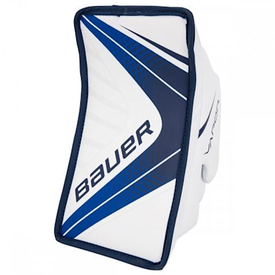 White/Navy (Bauer Vapor X700 Goalie Blocker - Junior)