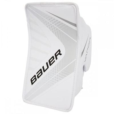 White/White (Bauer Vapor X700 Goalie Blocker - Junior)
