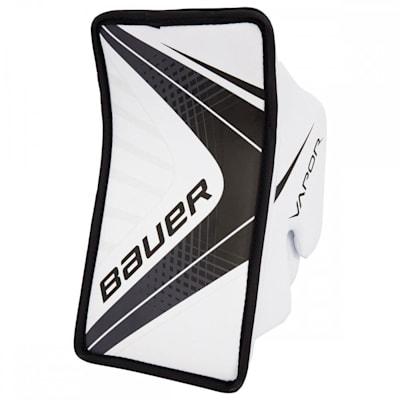 White/Black (Bauer Vapor X700 Hockey Goalie Blocker - Senior)