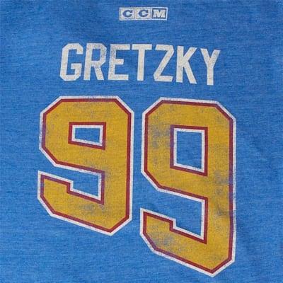 Back (Adidas Gretzky Player Tee Blues - Mens)