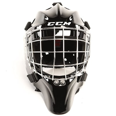 1.9 Certified Goal Mask - Front View (CCM 1.9 Certified Goalie Mask - Senior)