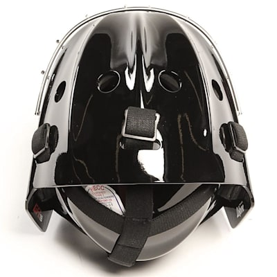 1.9 Certified Goal Mask - Top View (CCM 1.9 Certified Goalie Mask - Senior)
