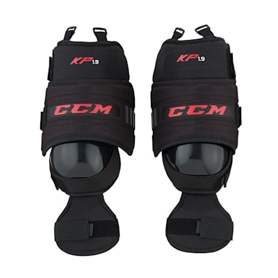 (CCM KP1.9 Hockey Goalie Knee Guards - Intermediate)