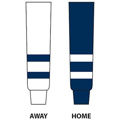Dogree College Hockey Socks - UNH (College Game Sock UNH - Intermediate)