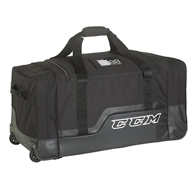 "Black (CCM 280 Deluxe Wheel Bag - 37"" - Senior)"