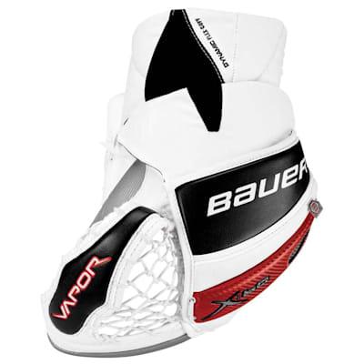 Back - White/Silver/Black/Red (Bauer Vapor X:60 Pro Goalie Catch Glove - Senior)