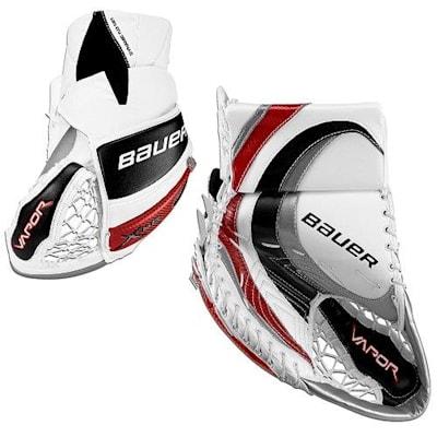 Profile - White/Silver/Black/Red (Bauer Vapor X:60 Pro Goalie Catch Glove - Senior)