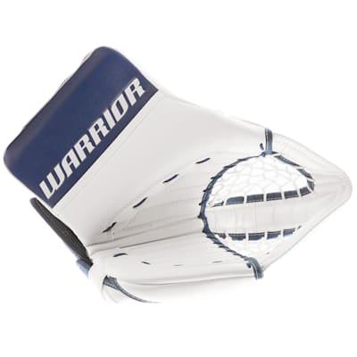 White/Blue (Warrior Ritual GT Classic Goalie Catch Glove - Intermediate)