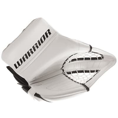 White/White (Warrior Ritual GT Classic Goalie Catch Glove - Intermediate)