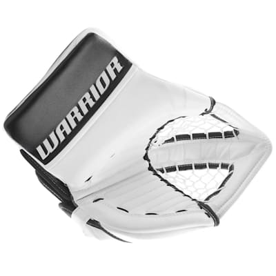 White/Black (Warrior Ritual GT Classic Goalie Catch Glove - Senior)