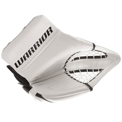 White/White (Warrior Ritual GT Classic Goalie Catch Glove - Senior)