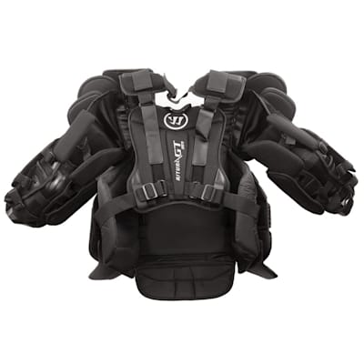 Back - Straight On (Warrior Ritual GT Goalie Chest And Arm Protector - Senior)