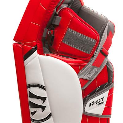 Side Closeup (Warrior Ritual GT Pro Classic Goalie Leg Pads - Senior)