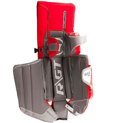 Unstrapped - Full Leg Channel (Warrior Ritual GT Pro Classic Goalie Leg Pads - Senior)