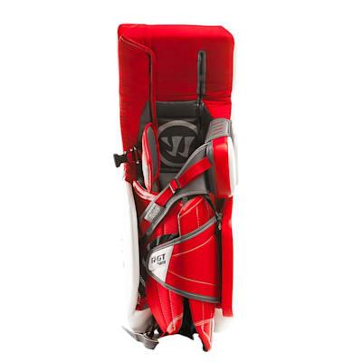 Strapped - Full Leg Channel (Warrior Ritual GT Pro Classic Goalie Leg Pads - Senior)