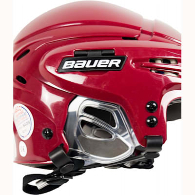 Ergonomic Translucent Ear Covers (Bauer 5100 Hockey Helmet)
