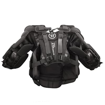 Back - Straight On (Warrior Ritual GT PRO Goalie Chest And Arm Protector - Senior)