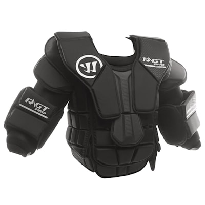 Front View - Slightly Offset (Warrior Ritual GT PRO Goalie Chest And Arm Protector - Senior)