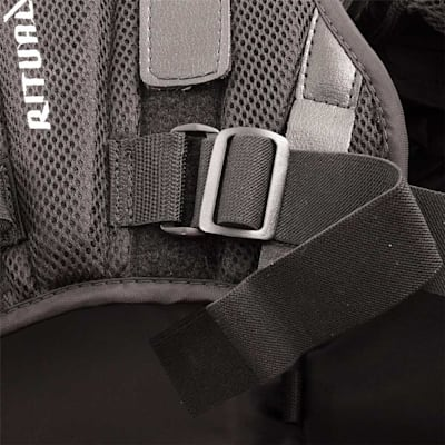 Buckle Closeup (Warrior Ritual GT PRO Goalie Chest And Arm Protector - Senior)