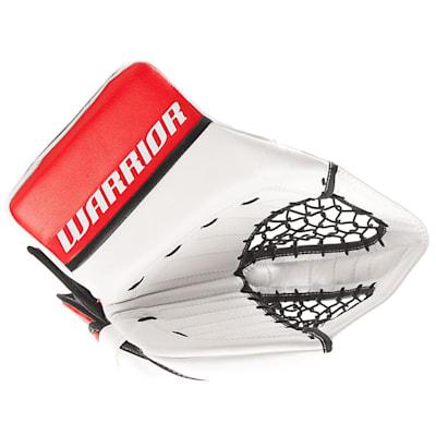 White/Red/Black (Warrior Ritual GT Pro Classic Goalie Catch Glove - Senior)