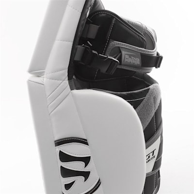 Side Closeup (Warrior Ritual GT Classic Goalie Leg Pads - Intermediate)