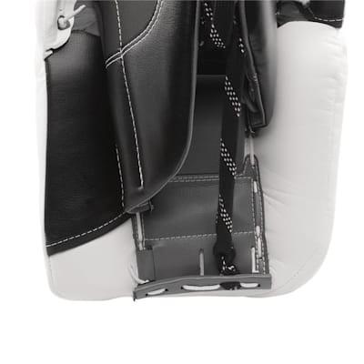 Back View - Toe Channel (Warrior Ritual GT Classic Leg Pads - Intermediate)
