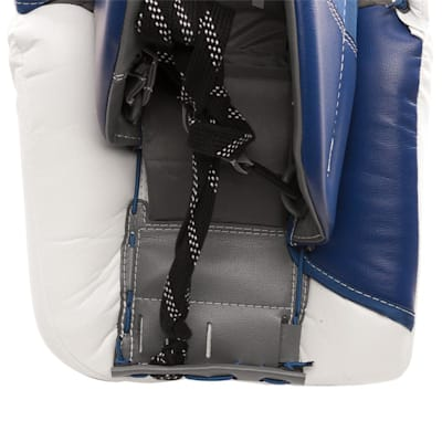 Back View - Toe Channel (Warrior Ritual GT Classic Goalie Leg Pads - Senior)
