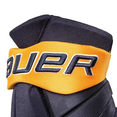 Cuff View (Bauer PHC Vapor Pro Hockey Gloves - Junior)