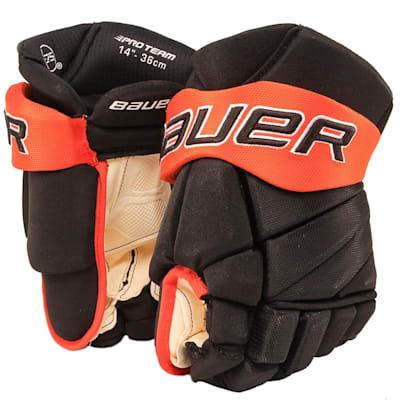 Black/Orange (Bauer PHC Vapor Pro Hockey Gloves - Senior)