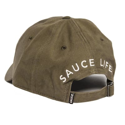 Back (Sauce Hockey Candy Cuff Cap - Adult)
