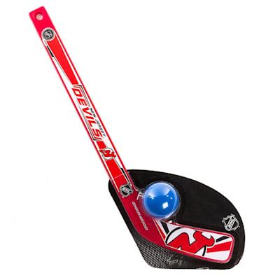 New Jersey Devils (Sher-Wood Hat Trick Mini Stick with Ball)