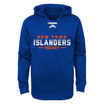 New York Islanders (Adidas Islanders Basic Poly Hockey Hoody - Youth)