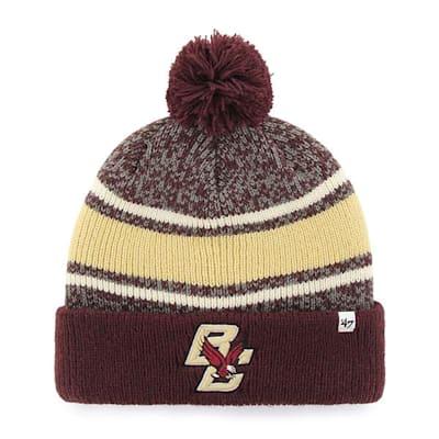 Front (47 Brand Boston College Fairfax Knit Hat - Adult)