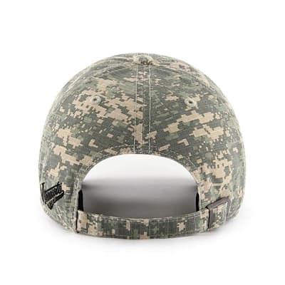 Back (47 Brand Blackhawks Camo Officer Cap)