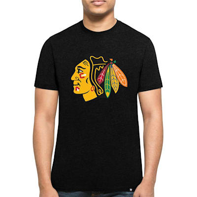 Front (47 Brand Chicago Blackhawks Club Tee - Mens)