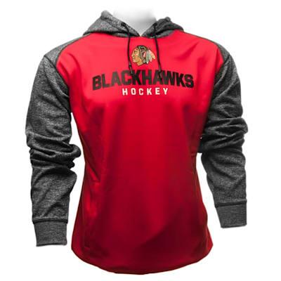 Chicago Blackhawks (Fanatics Chicago Blackhawks Static Fleece Hoody - Mens)