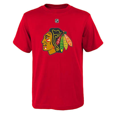 Front (Adidas Blackhawks Toews Short Sleeve Tee - Youth)
