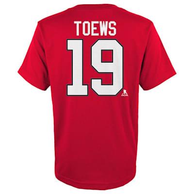 Toews (Adidas Blackhawks Toews Short Sleeve Tee - Mens)