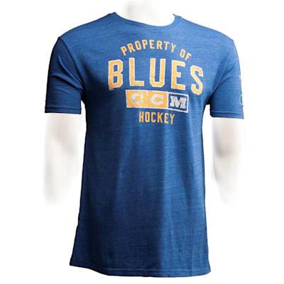 St. Louis Blues (CCM St. Louis Blues Team Property Short Sleeve Tee - Mens)