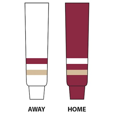 Dogree College Hockey Socks - BC (Boston College Sock - Tyke)