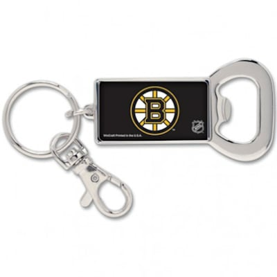 (Wincraft Bruins Bottle Opener Key Ring)