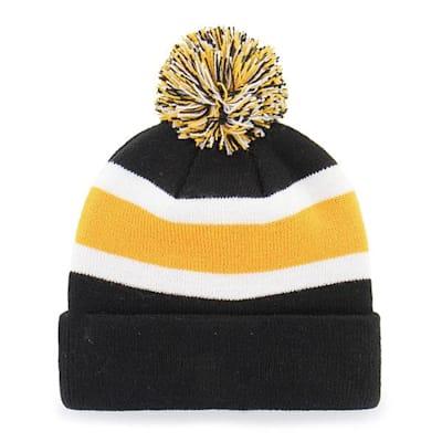 Back (47 Brand Bruins Breakaway Knit Hat)