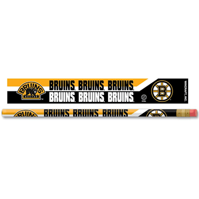 Pencils 6-Pack Bruins (Wincraft Boston Bruins Pencils - 6 pack)